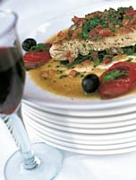 Mouthwatering dish from our cookery courses in Italy