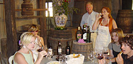 Wine tasting during your cooking holidays in Italy