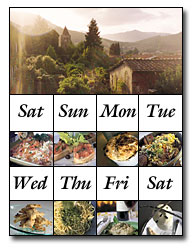 Your week in our cooking school in Tuscany, Italy